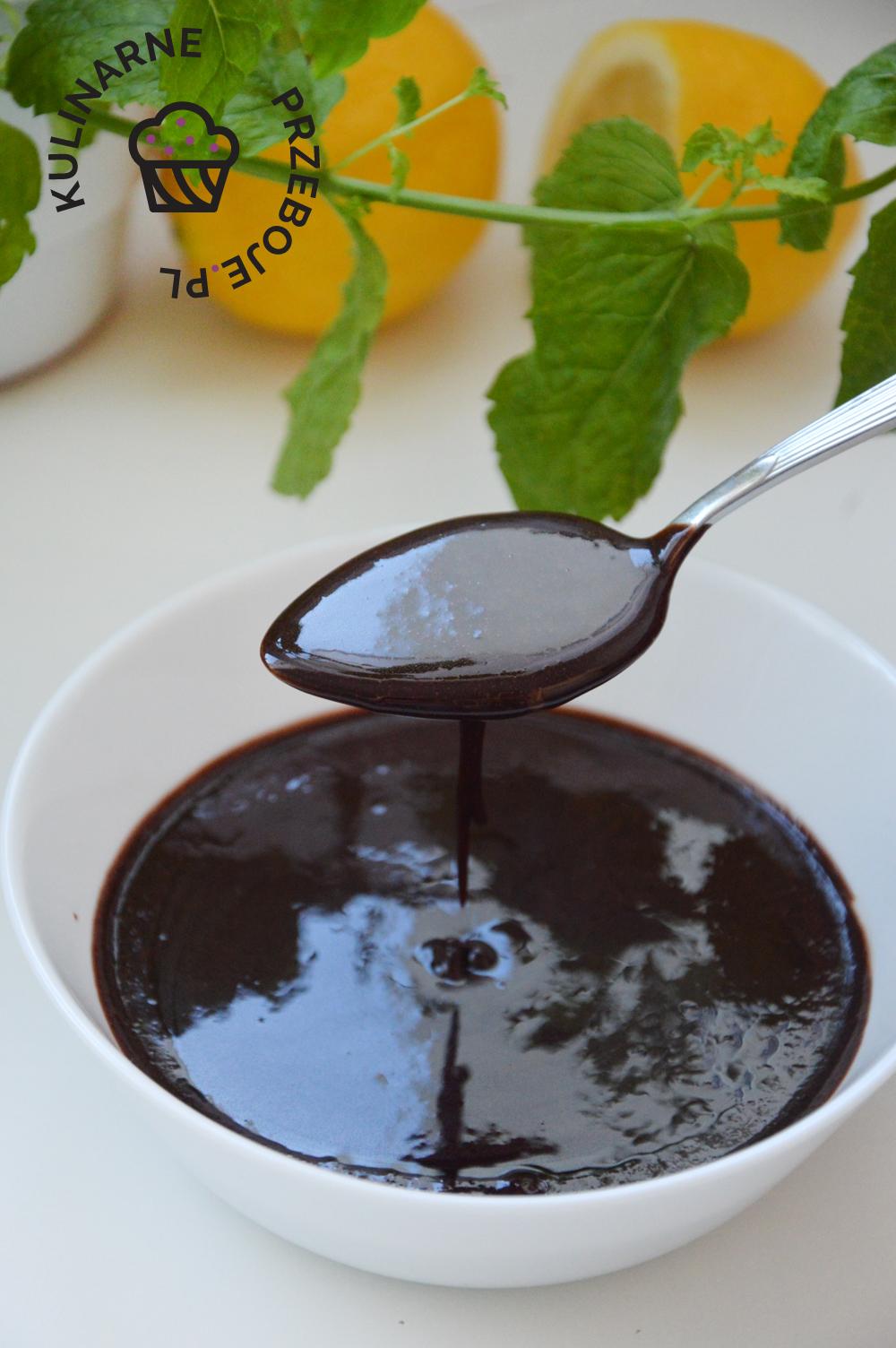 prosta polewa czekoladowa