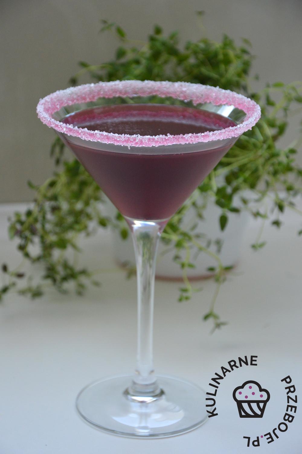 Drink wiśniowa poezja z grenadine