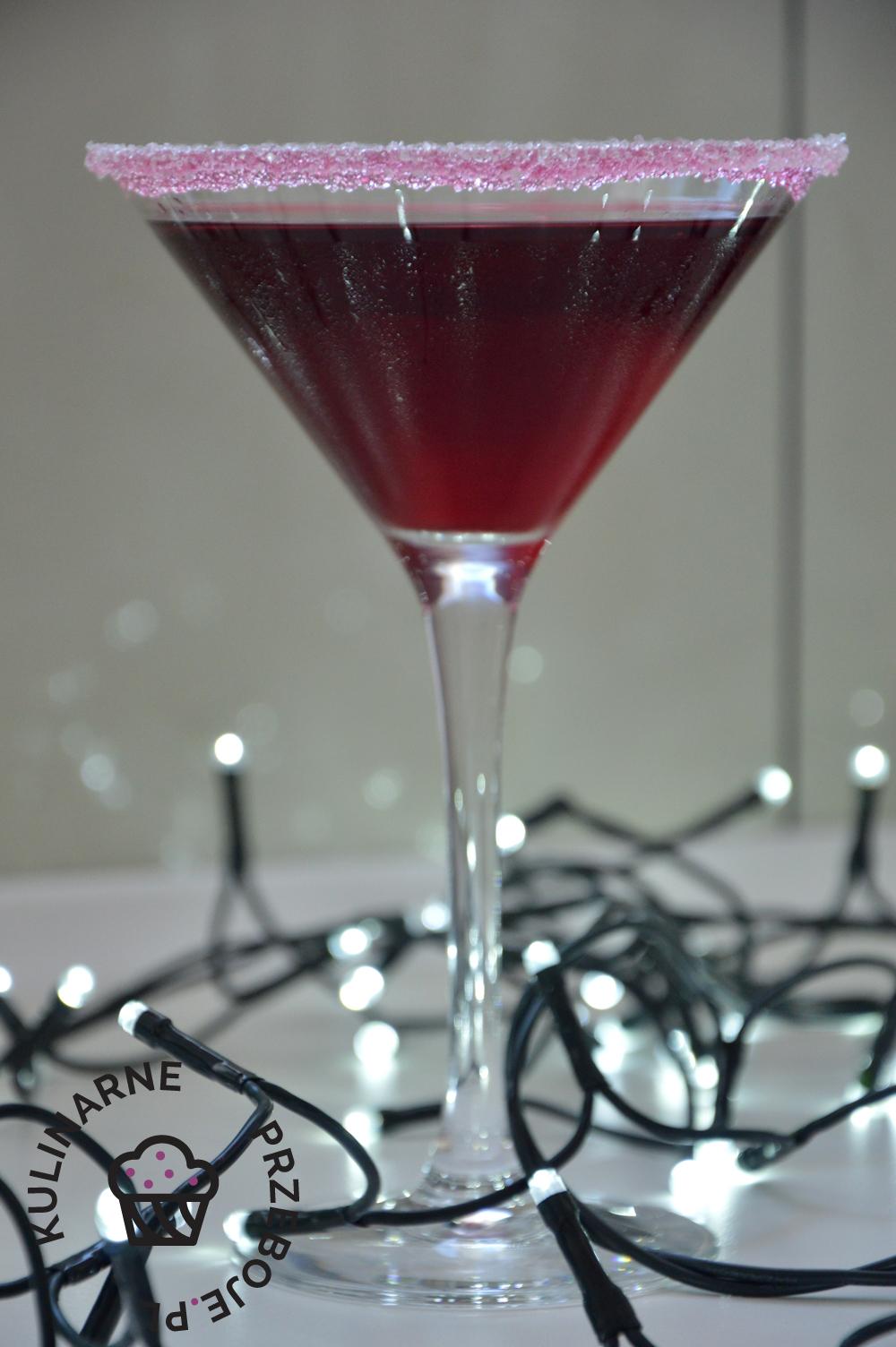 Drink wiśniowa poezja z sokiem wiśniowym