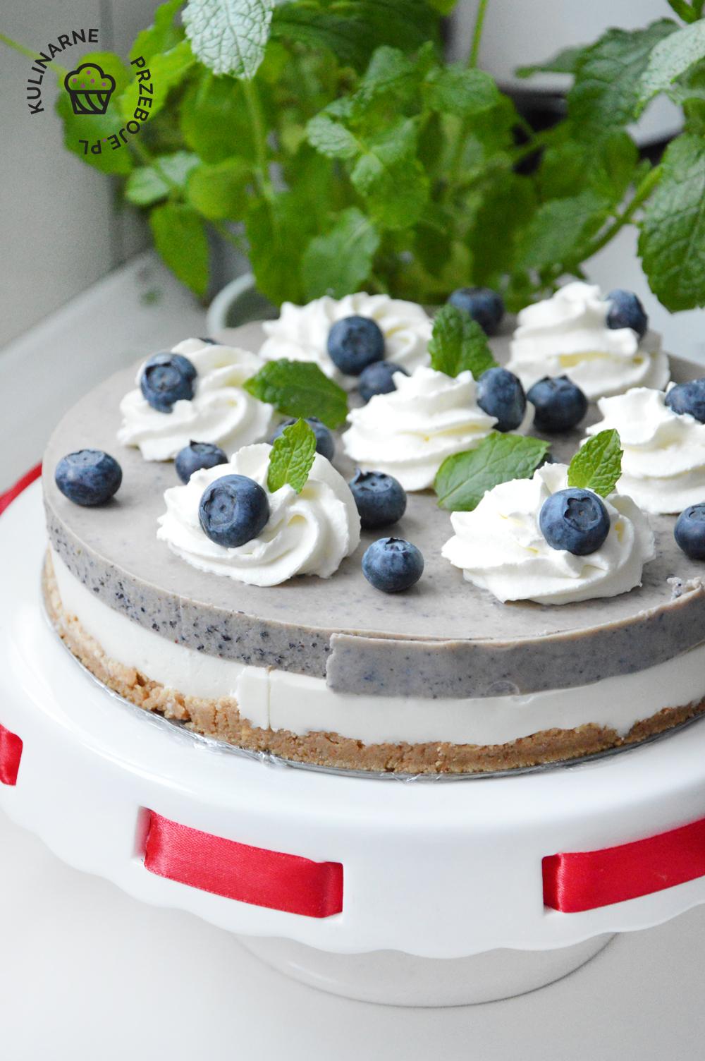 borówki ciasto
