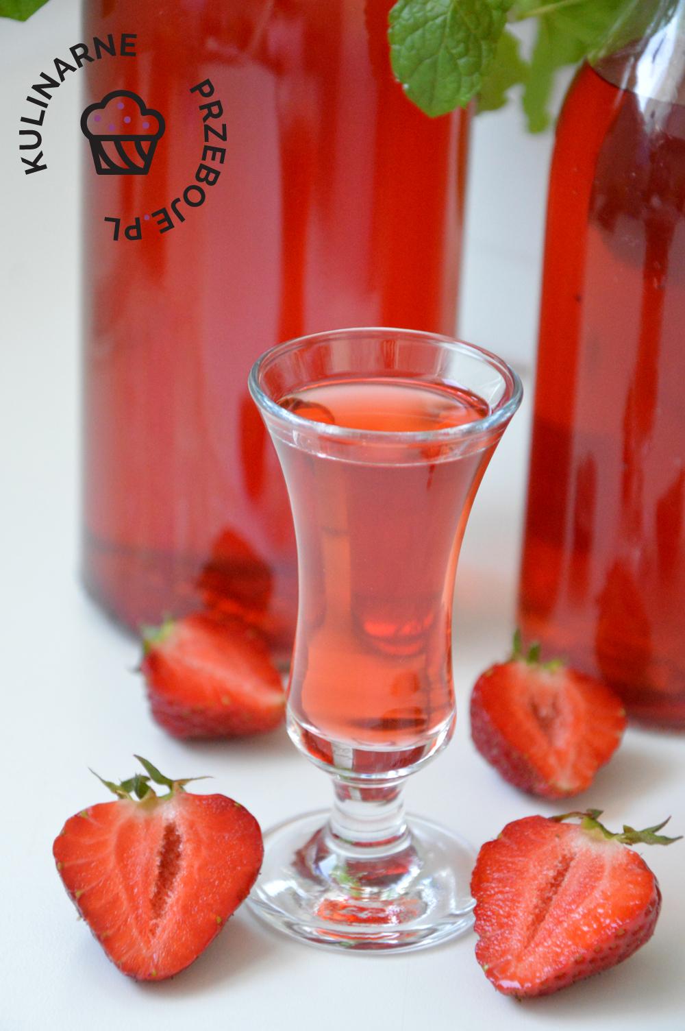 nalewka truskawkowa na spirytusie i wódce