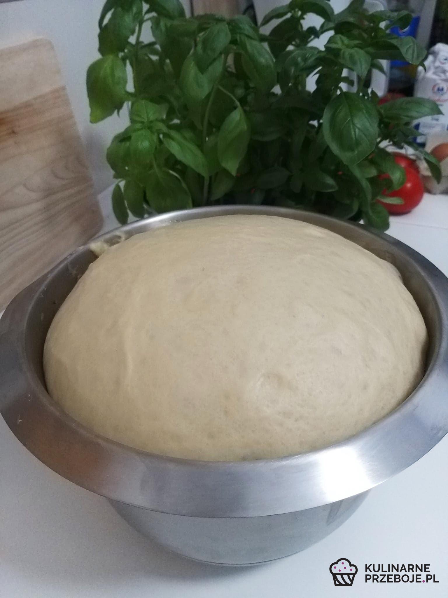 ciasto drożdżowe na jagodzianki