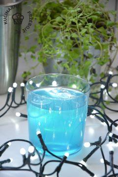 drink blue heaven z lemoniadą przepis