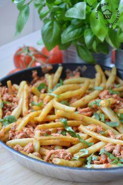fasolka szparagowa z mięsem mielonym przepis
