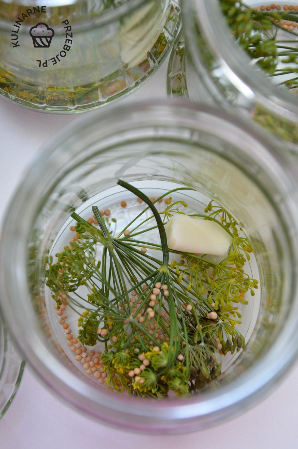 ogórki do słoików na zimę