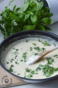 sos gorgonzola przepis