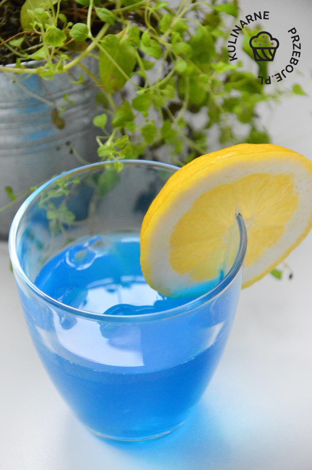 drink blue shark