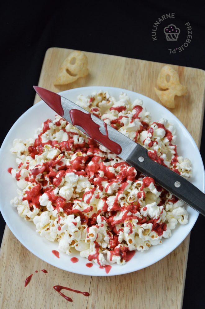 krwawy popcorn