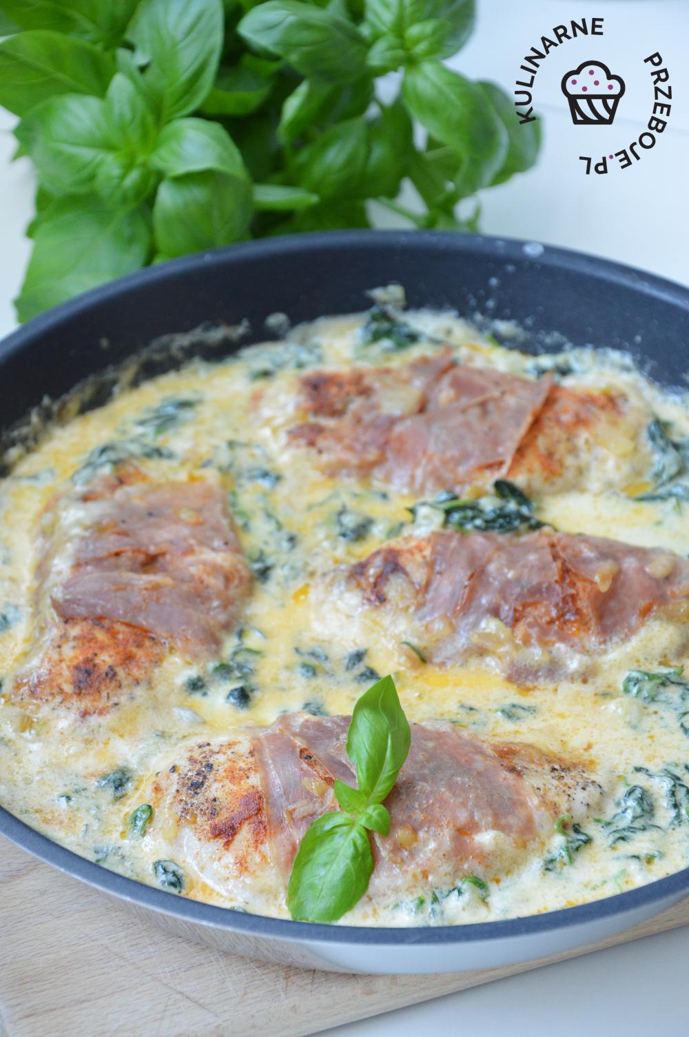 kurczak w sosie gorgonzola przepis