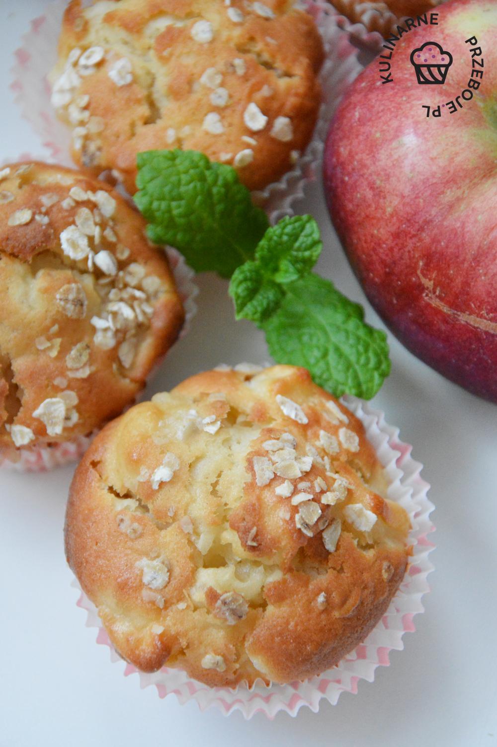 szybkie babeczki z jabłkami