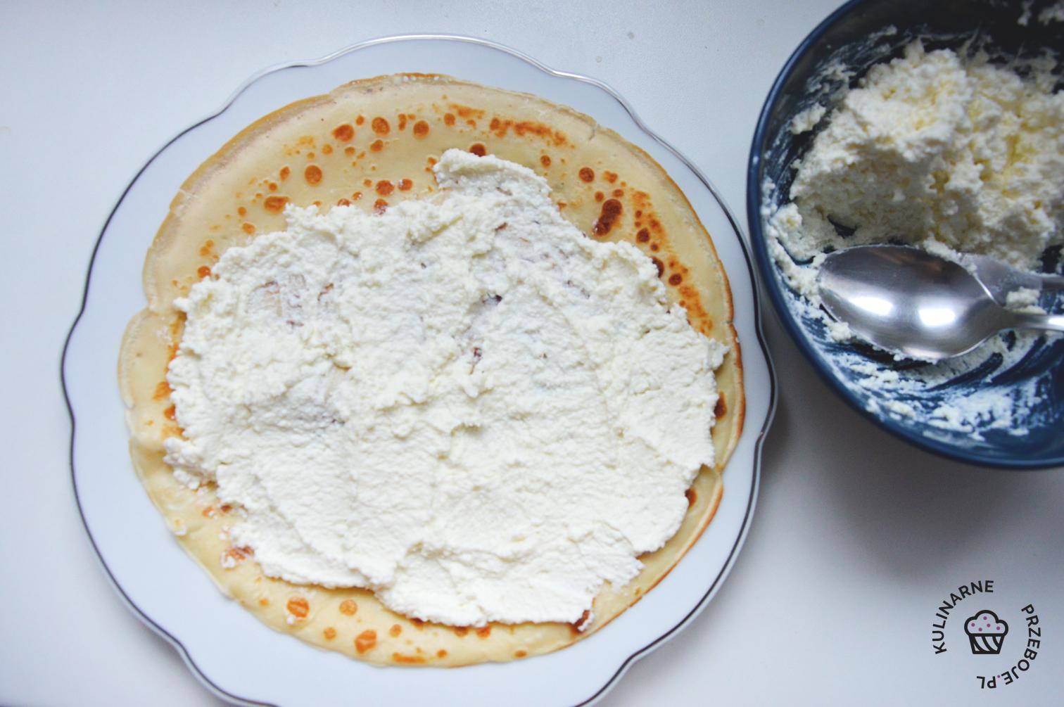 naleśniki z serem przepis