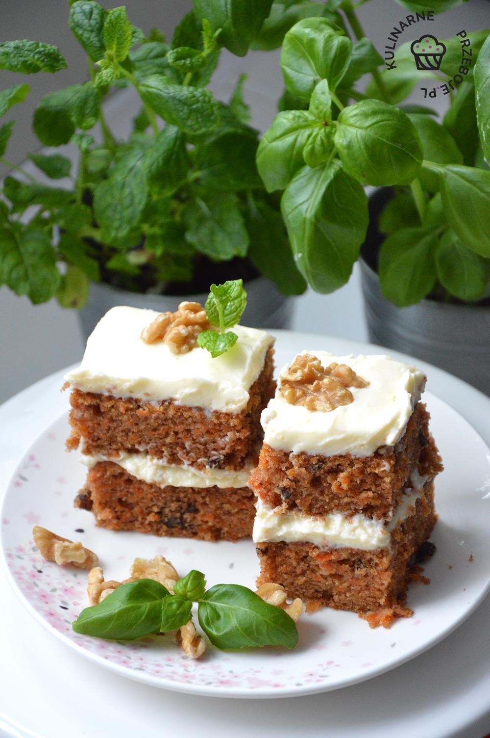 ciasto marchewkowe wilgotne
