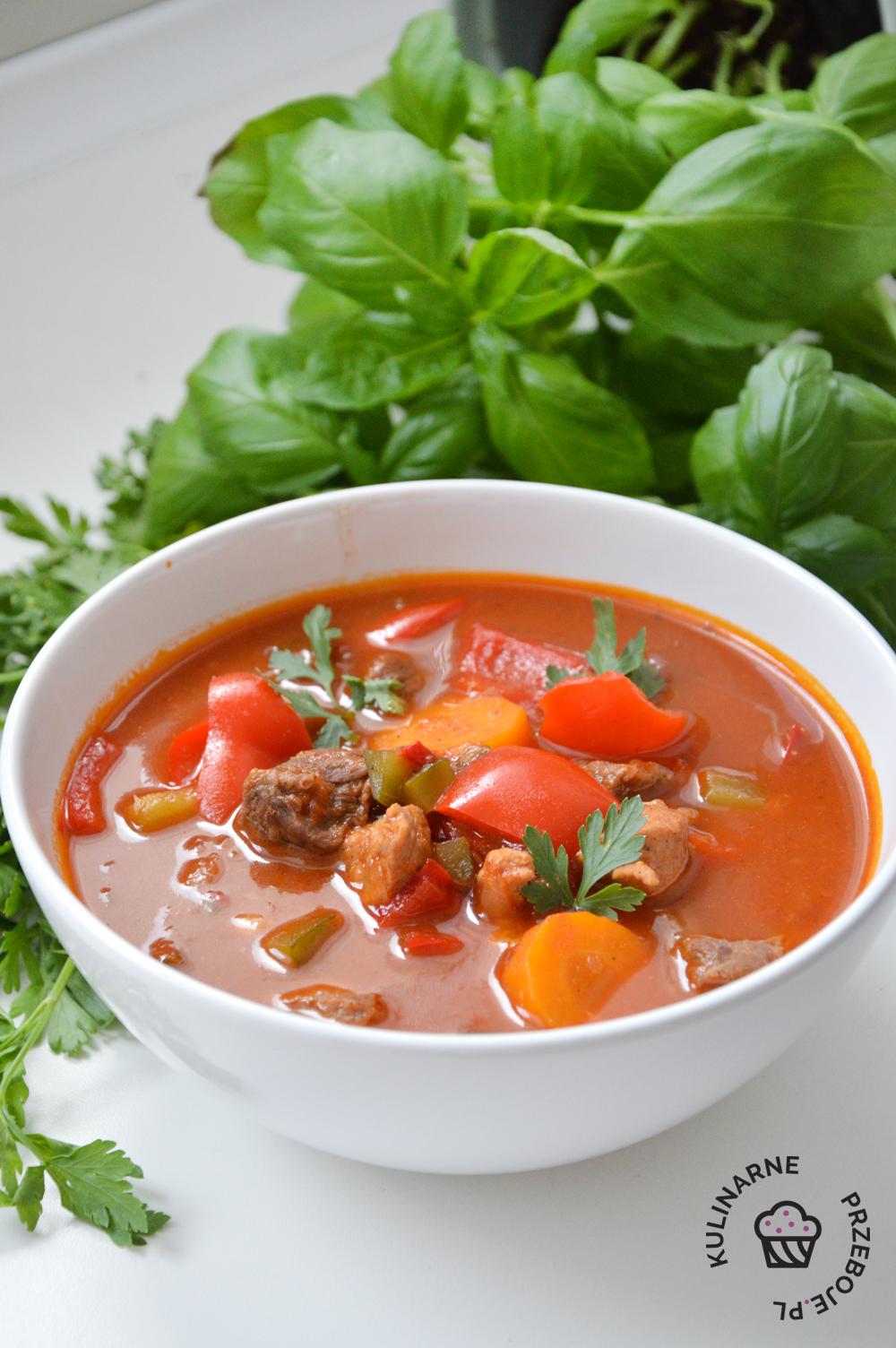 zupa gulaszowa przepis