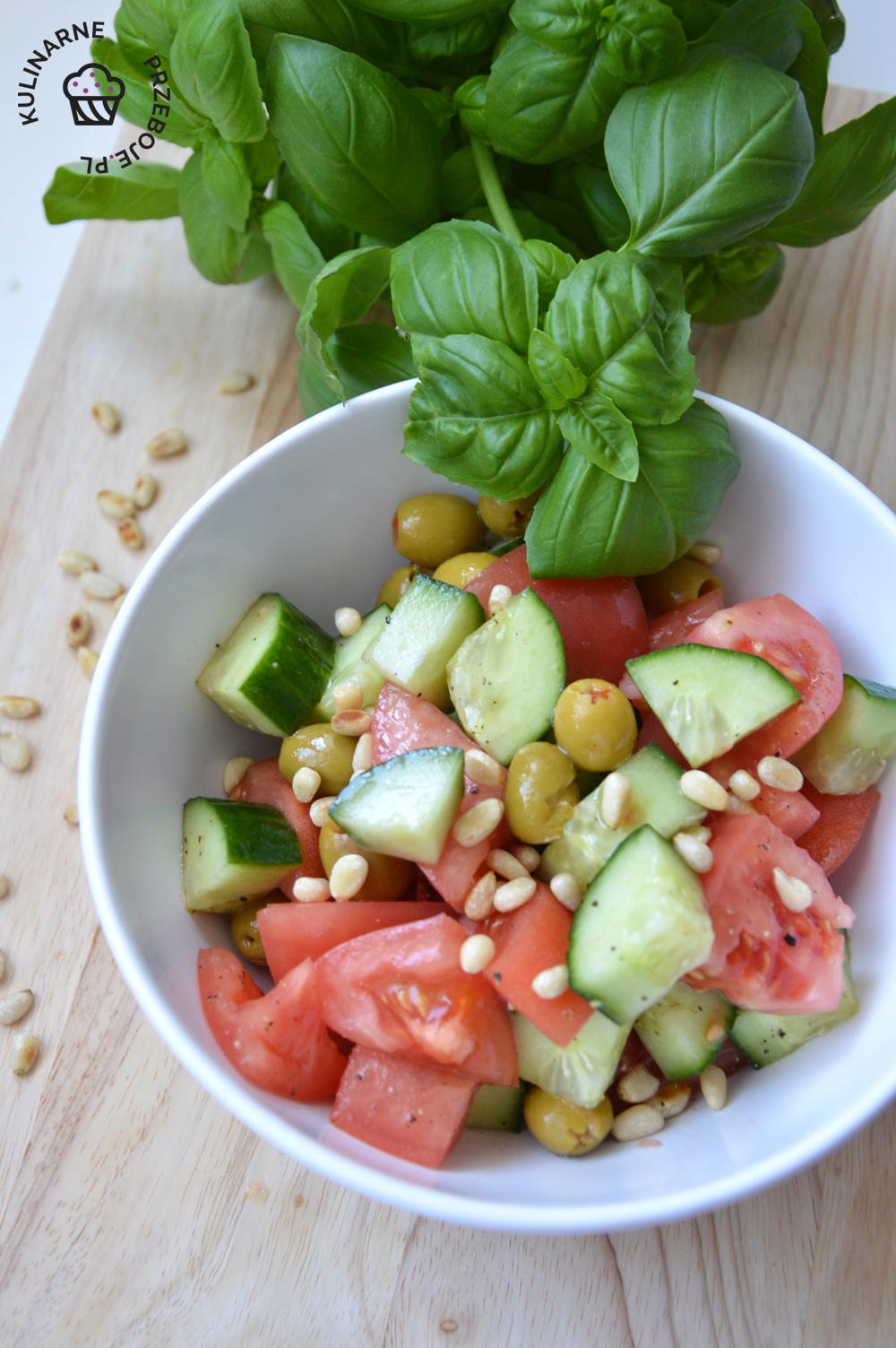 przepis na szybką salatkę