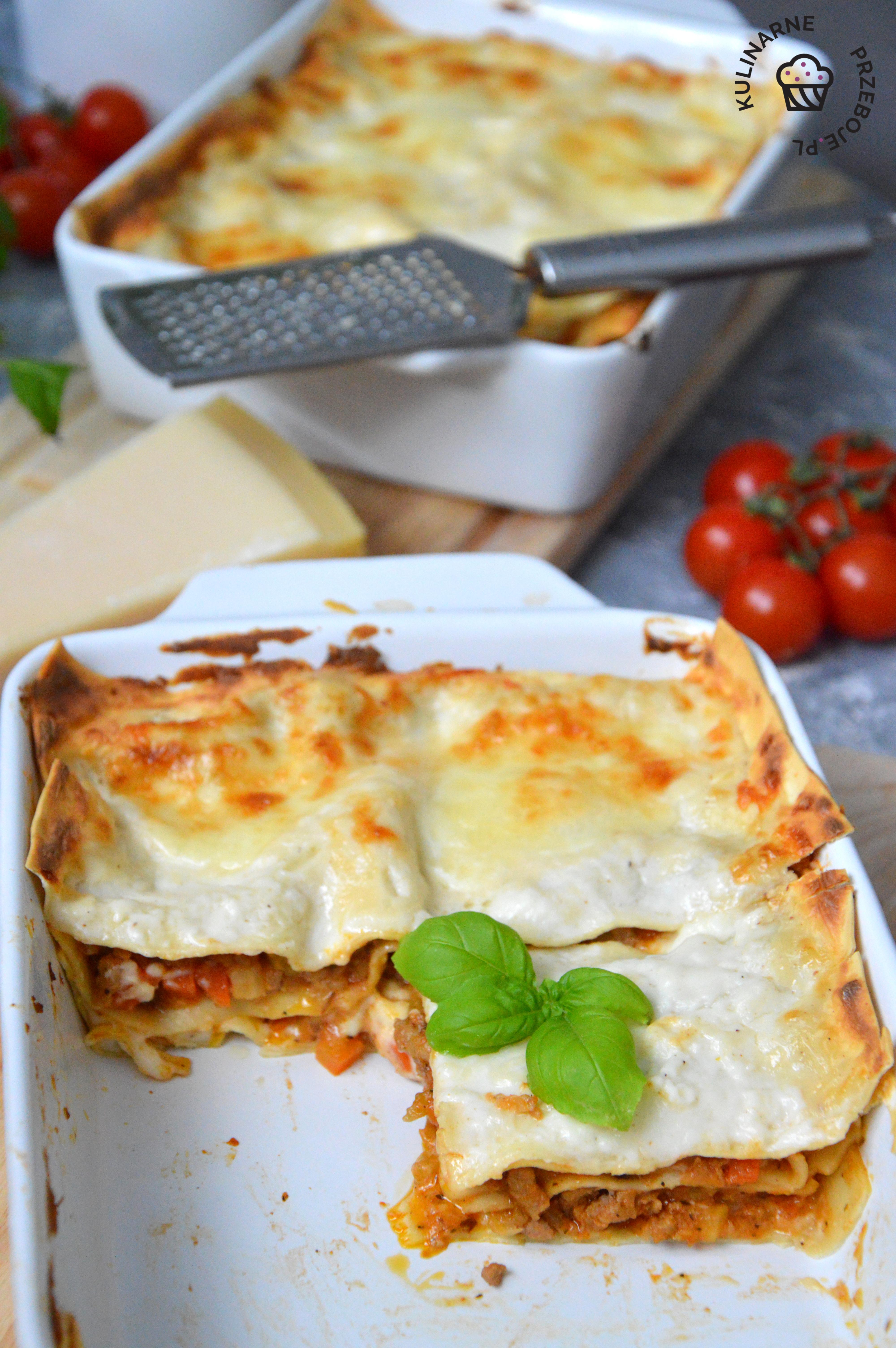 lasagne przepis prosty