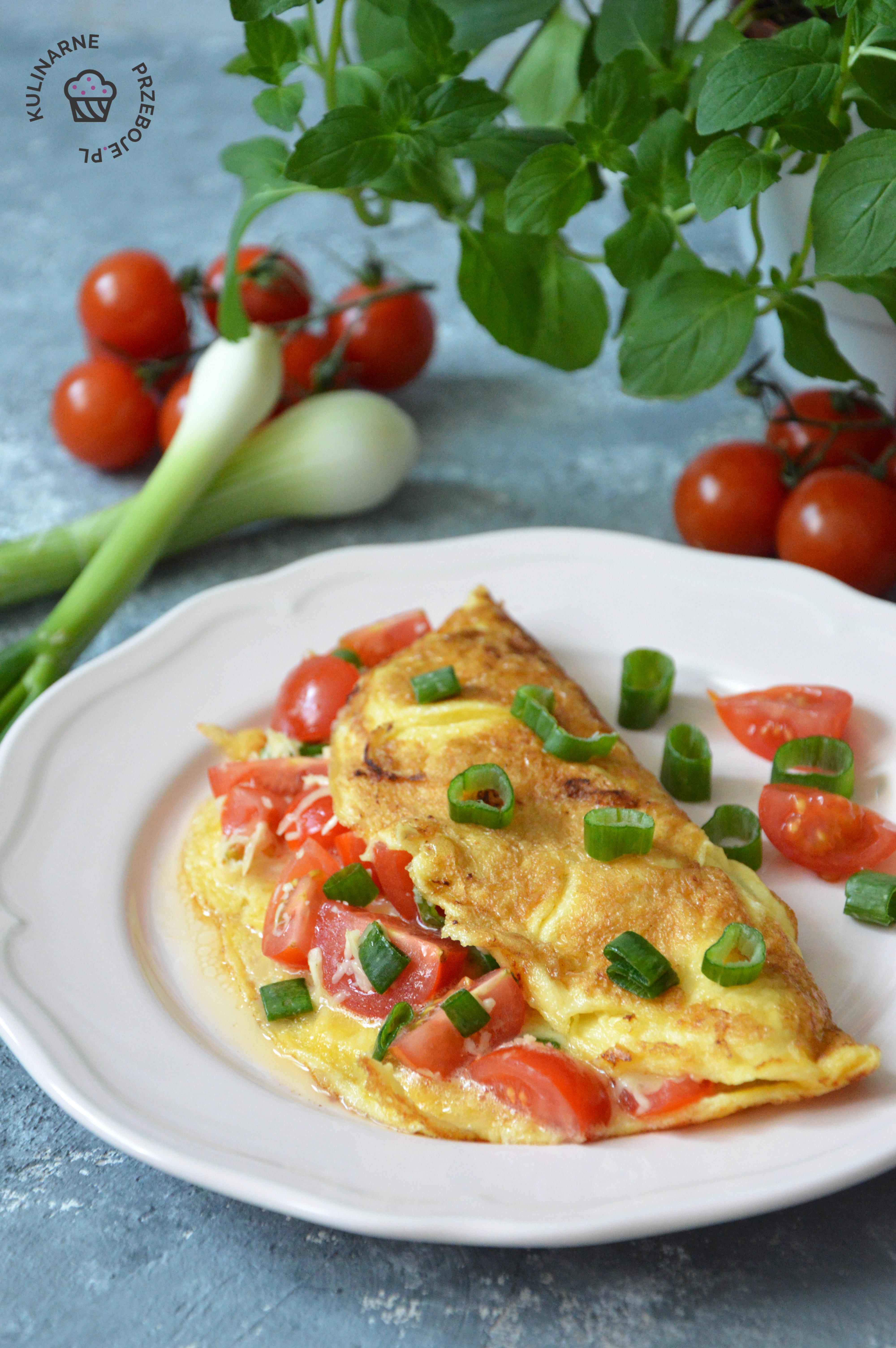 omlet przepis