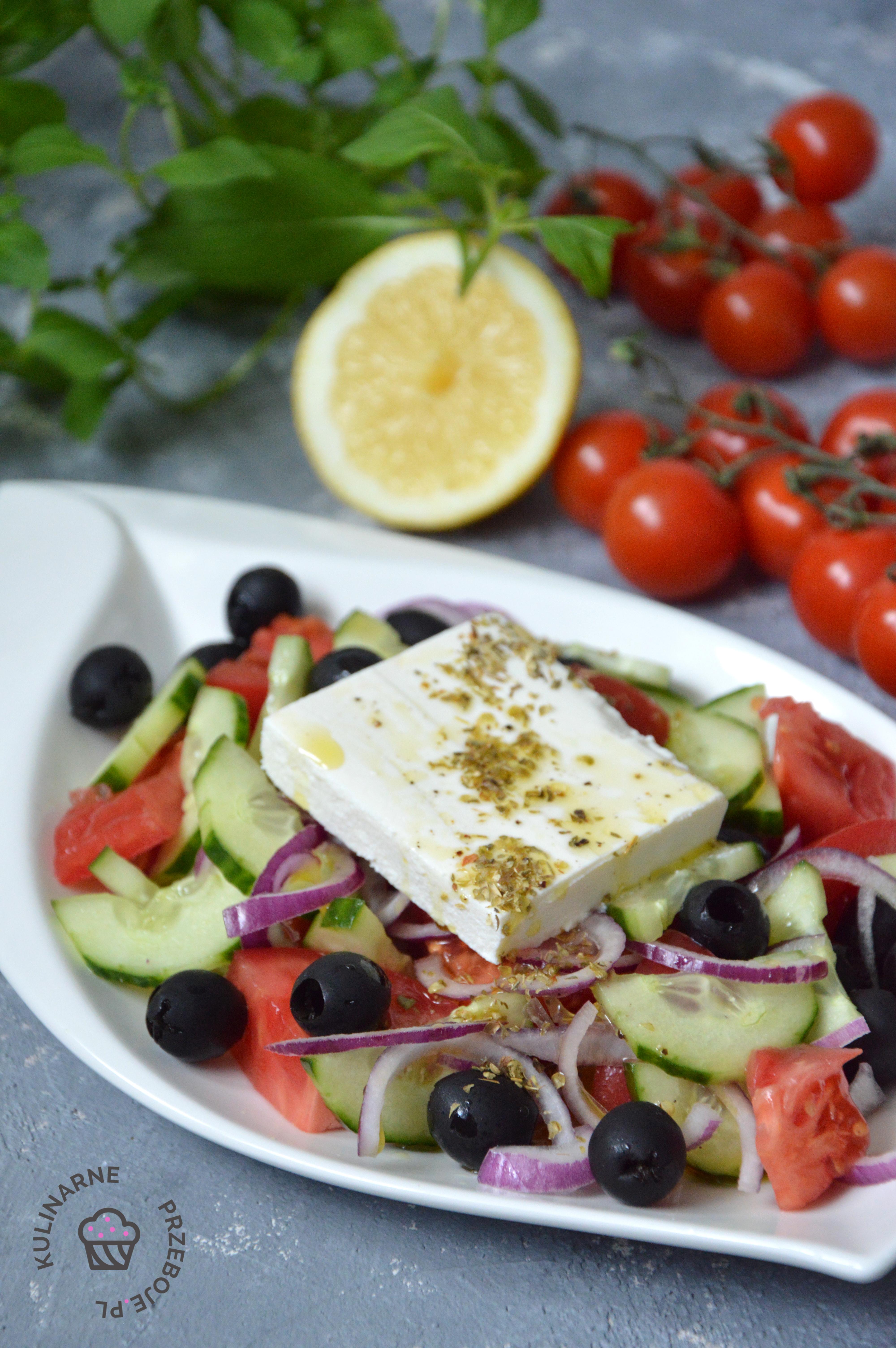 salatka grecka klasyczna