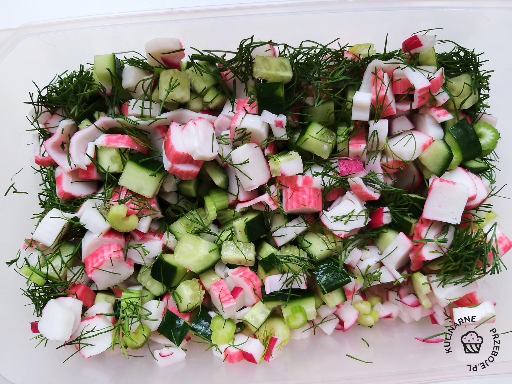 wiosenna sałatka
