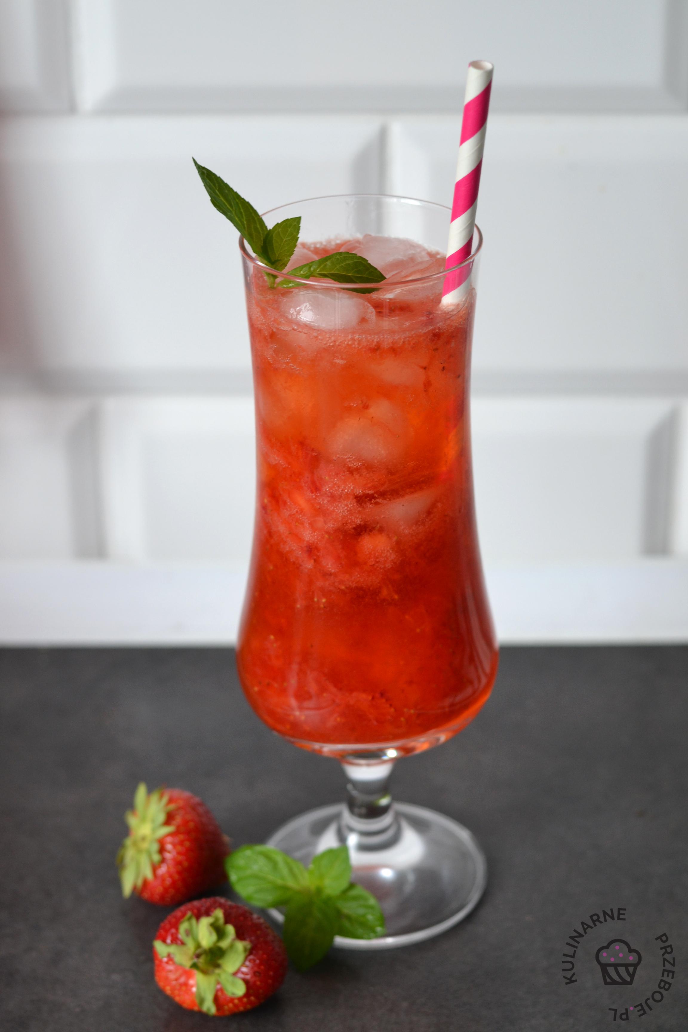 drink truskawkowa rozkosz przepis
