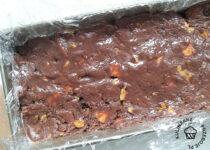 blok czekoladowy przed schlodzeniem