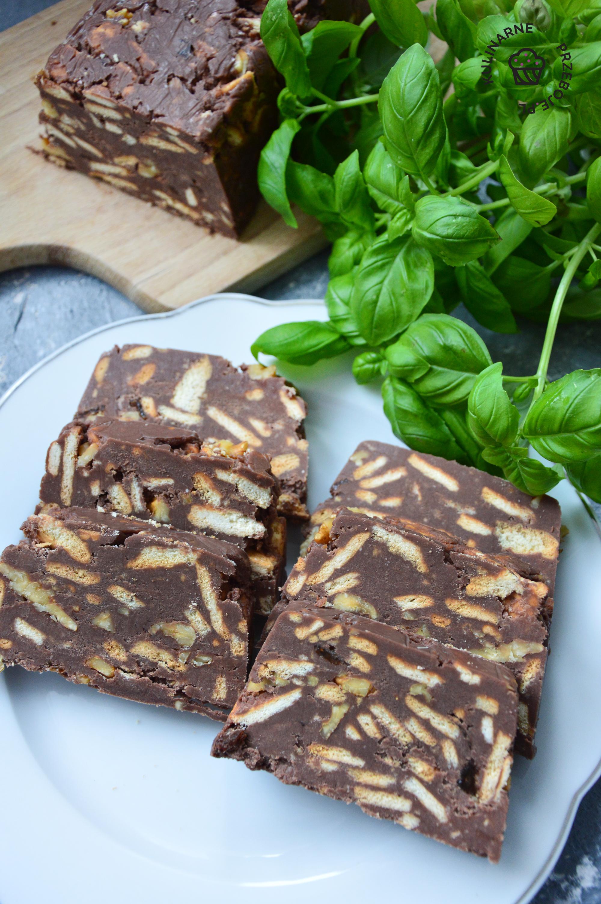 blok czekoladowy przepis