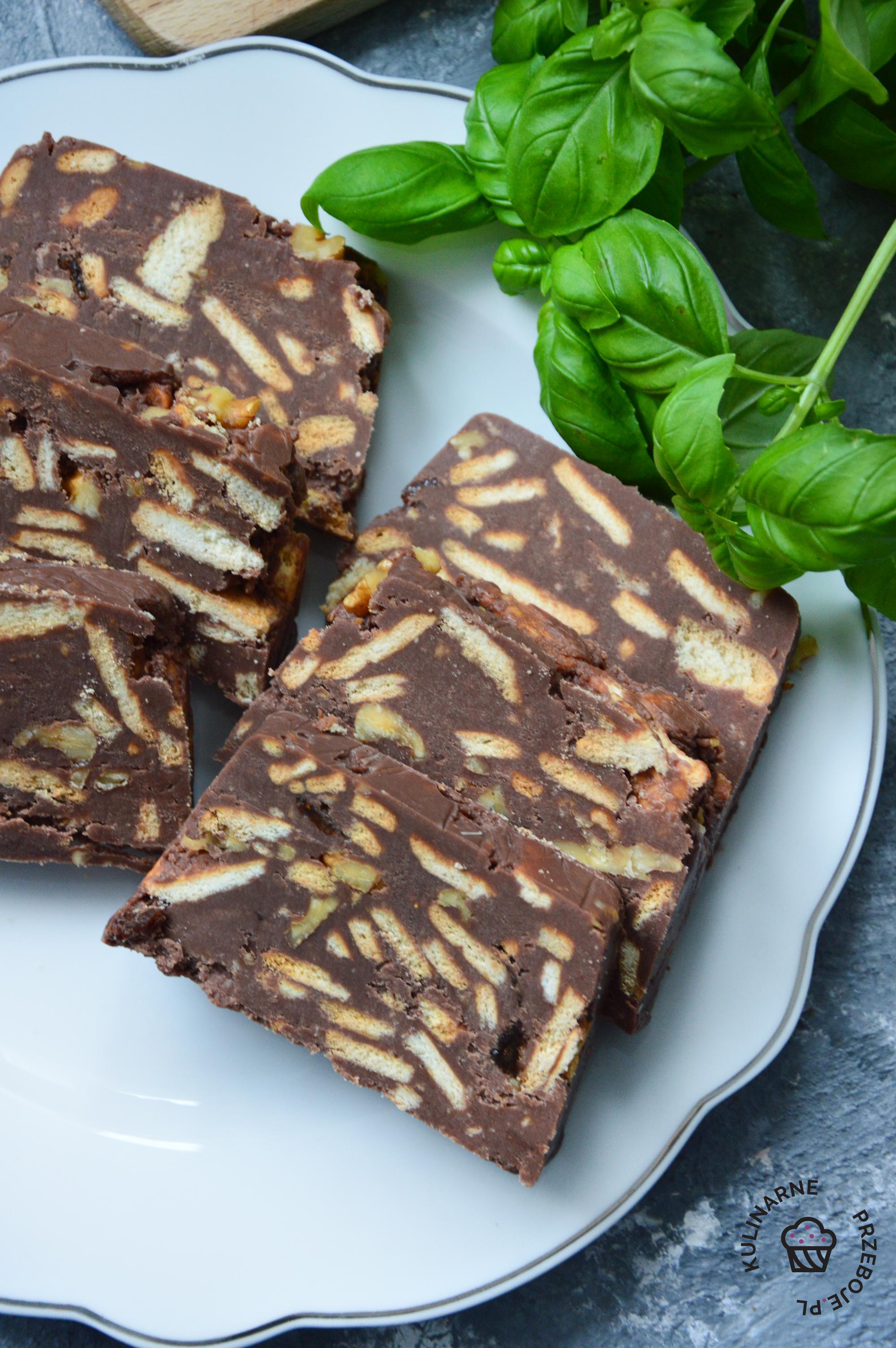 przepis na blok czekoladowy