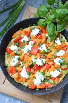 Frittata z warzywami