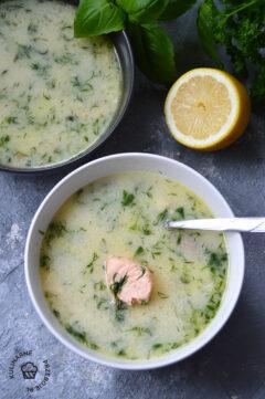 zupa rybna z łososia