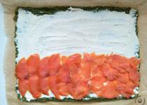 rolada z lososiem wedzonym