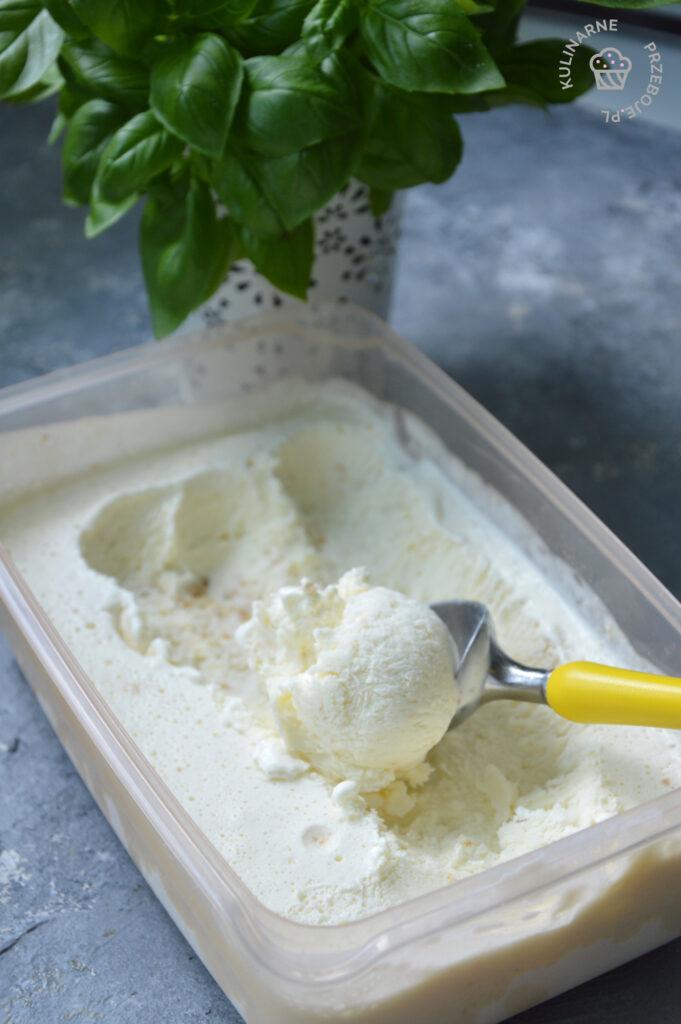 domowe lody ciasteczkowe bez maszynki